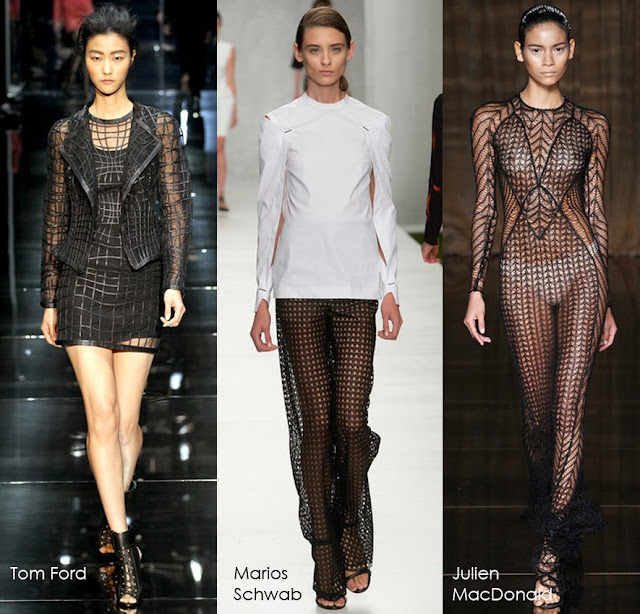 Tom Ford, Marios Schwab, Julien MacDonald