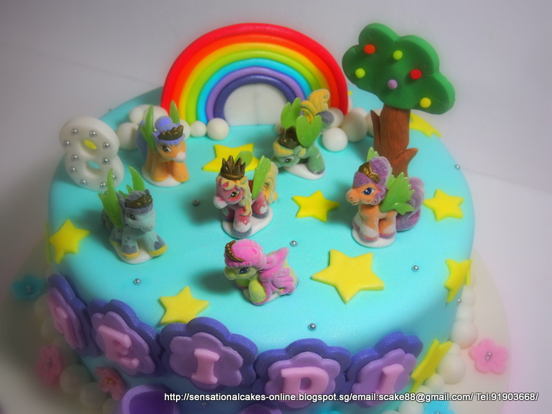 The Sensational Cakes Little Pony Cake Singapore