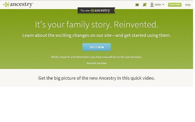 New Ancestry