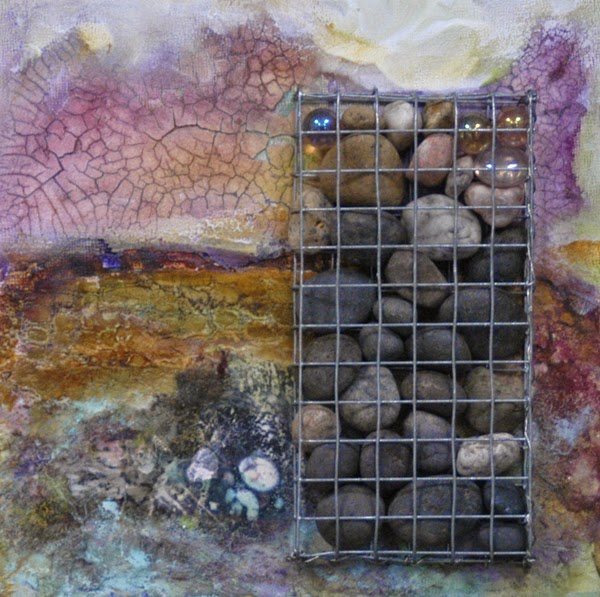 stone painting from Alternative Art Surfaces