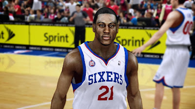 2K Thaddeus Young HD Face