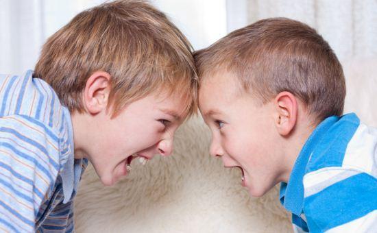 Anak bertengkar