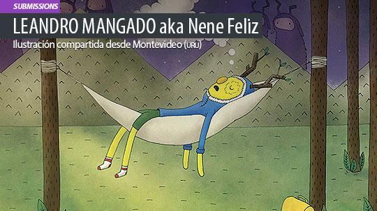 Ilustración. Sueño forestal de Leandro Mangado