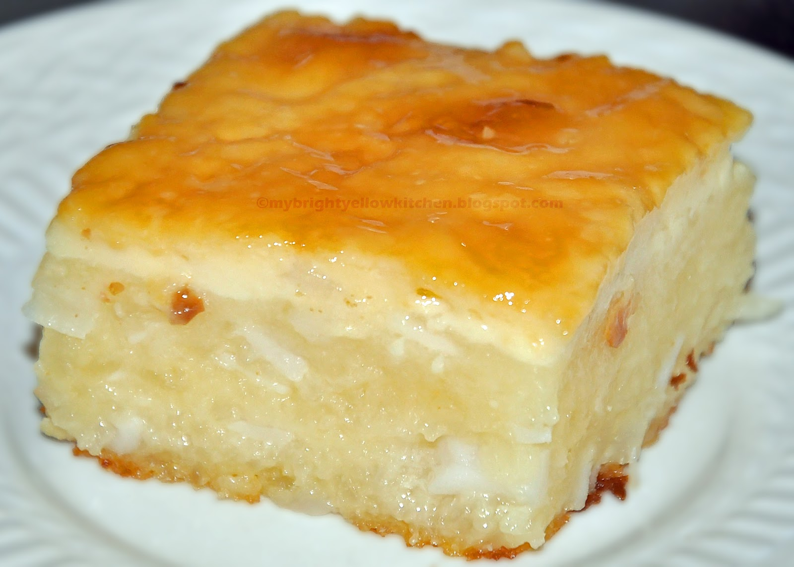 Simple Filipino Cassava Cake Recipe