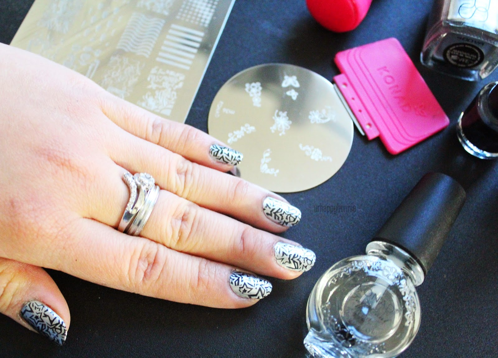 Urhappybunnie Konad Stamping Nail Art Set Review