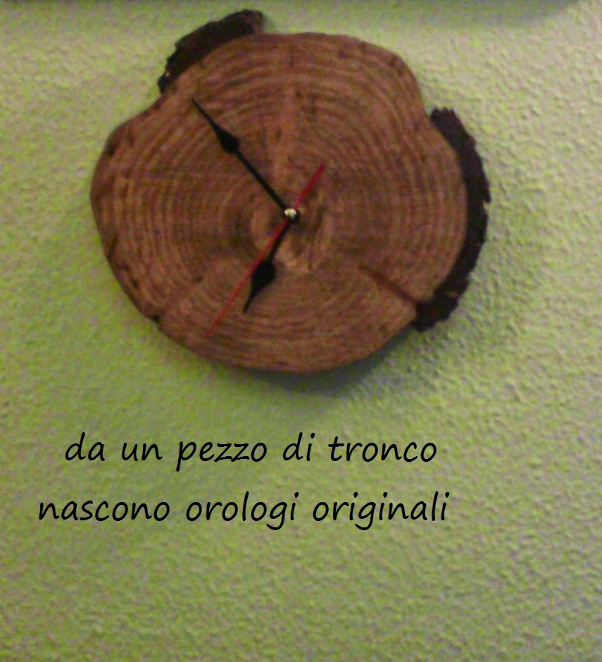 Hobbistica in mente antaluna creazioni orologio di for Hobbistica legno