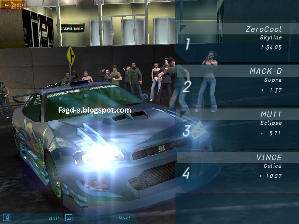 Need For Speed Underground Pc Cheats