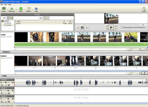 Software Video Editing Gratis dan Terbaik Untuk Komputer - VideoPad 2