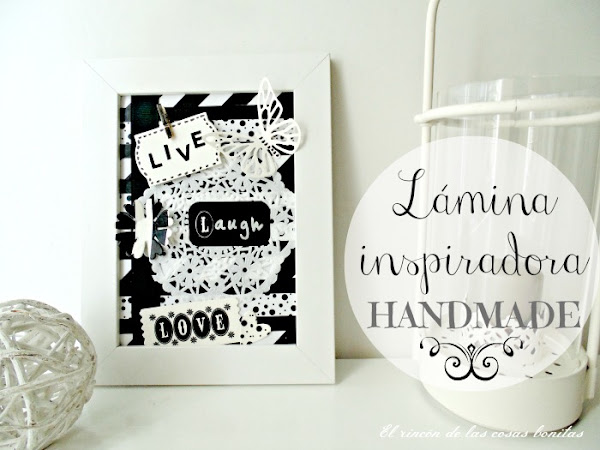Una l�mina inspiradora handmade