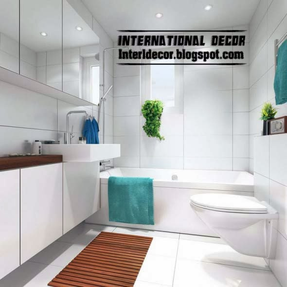 floor mats ideas for bathroom with white tiles