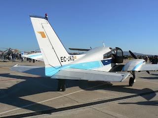 Bimotor Cessna 310 de l'Aeroclub Barcelona-Sabadell.