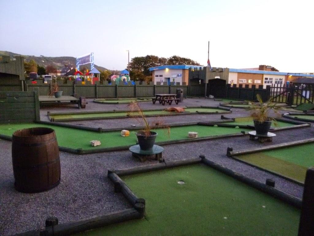 Crazy Golf at Pontin's Prestatyn Sands Holiday Park
