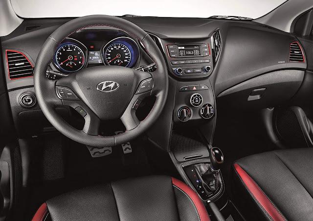 Hyundai HB20 2016 R-Spec Automático - interior
