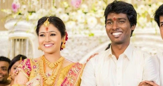 Atlee S Wife Priya Wedding Saree Saree Blouse Patterns