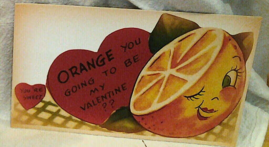 Orange you