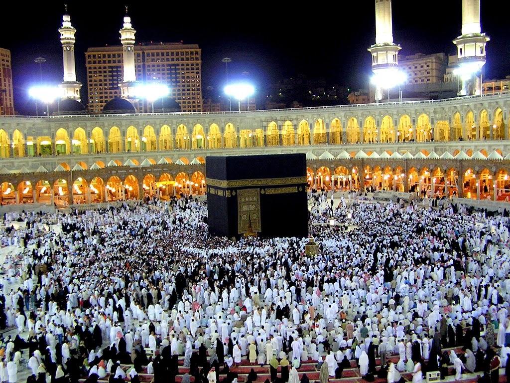 Gambar baitullah di Mekah Al-Mukaromah