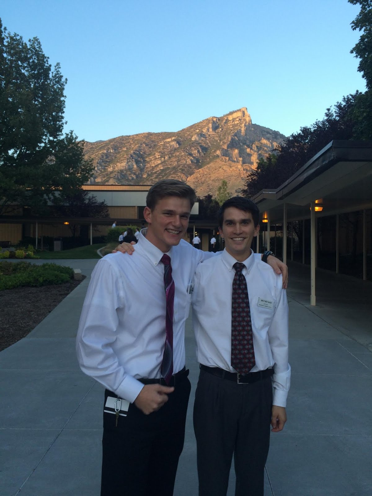 First Pic from the MTC with Elder Nash!