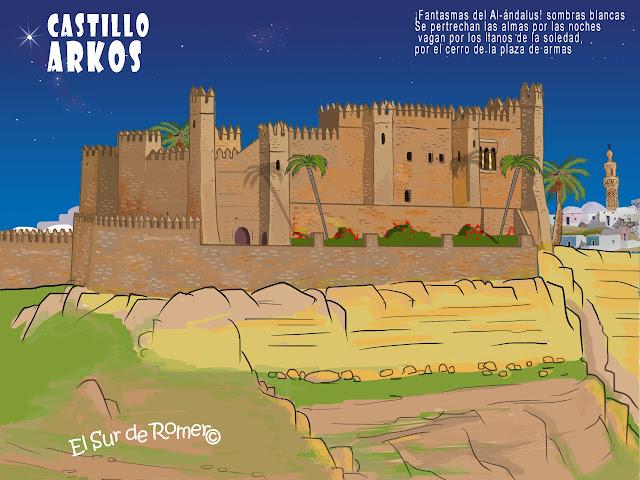 """<img src=""""Castillo de Arcos.jpg"""" alt=""""Castillo de Arcos en dibujo""""/>"""