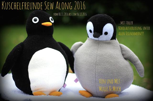 Kuschelfreunde Sew Along 2016