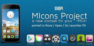 MIcons HD (Nova Apex Go Theme) v4.2