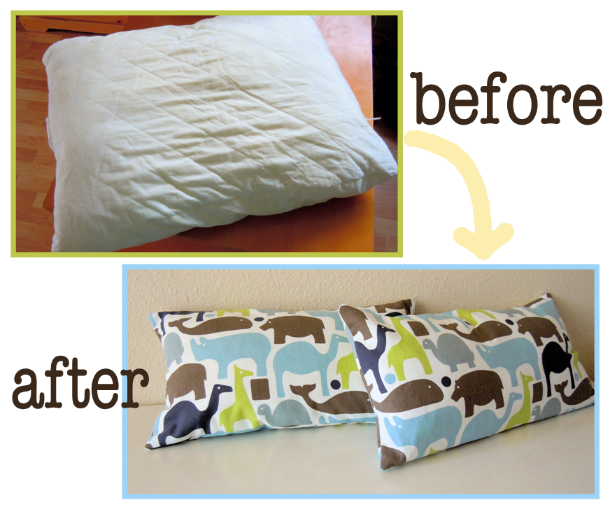 How To Make Zippered Throw Pillow Covers : Naturally Creative Mama: Nesting Series: Zippered Throw Pillow Cover