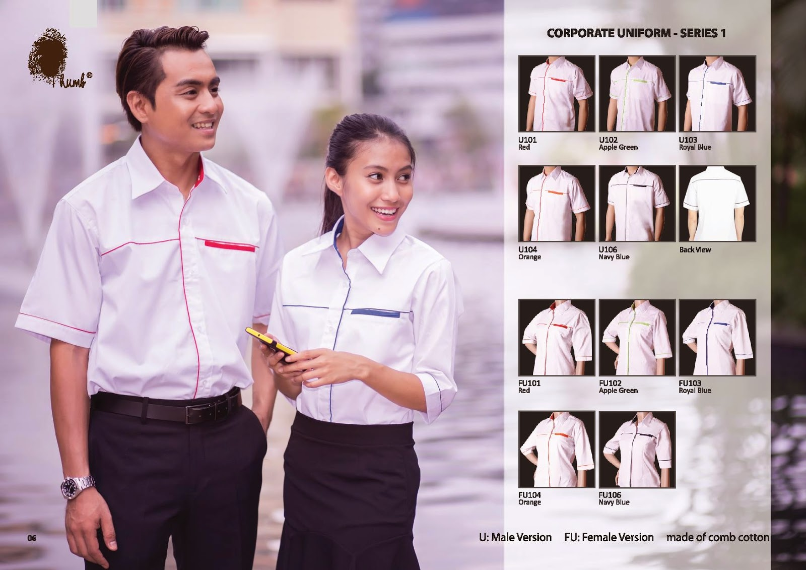 THUMB CORPORATE UNIFORM - SERIES 01