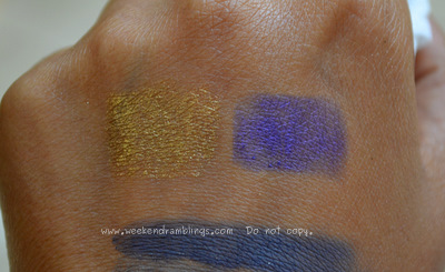NARS Holiday 2011 Collection Larger Than Life Eyeliners Campo de Fiori St Marks Place Swatches' border=