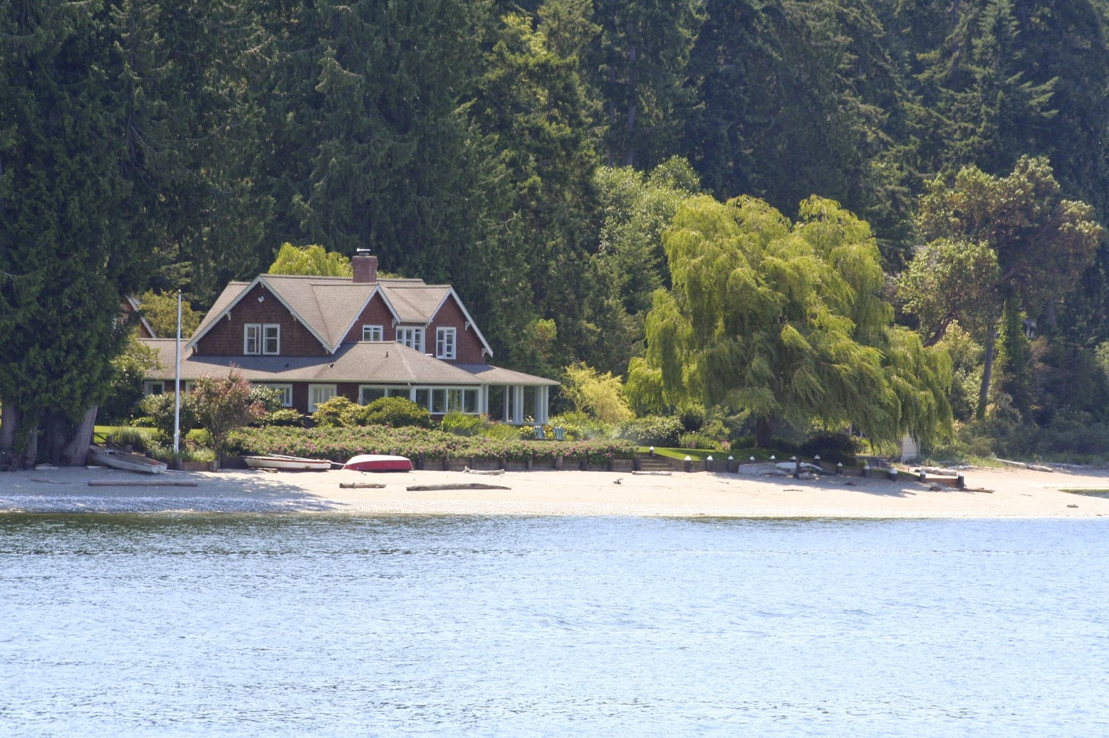 beautiful bainbridge island waterfront home