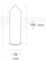 Average penis size chart