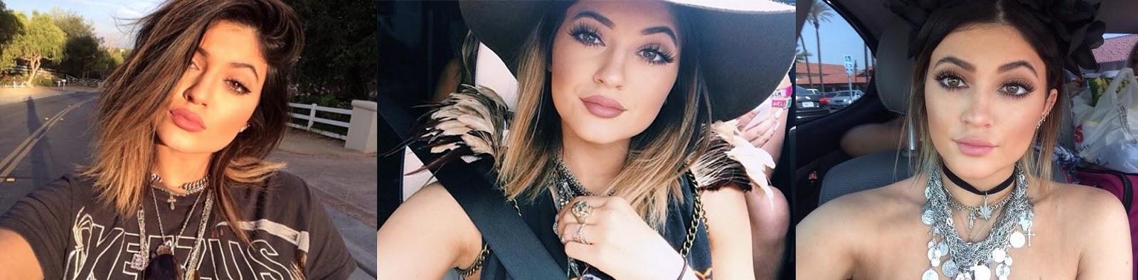 kylie jenner instagram lips