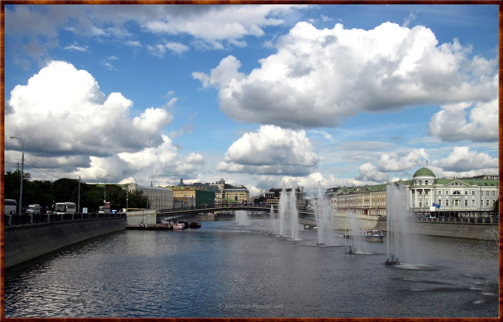Drainage Channel And Bolotnaya Embankment
