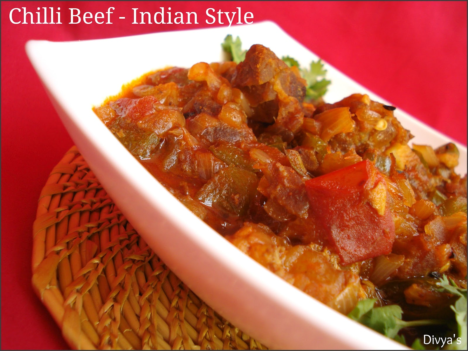Chilli beef indian style you too can cook chilli beef indian style forumfinder Gallery