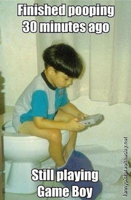 Finished Pooping Funny Kids Game Boy Video Games