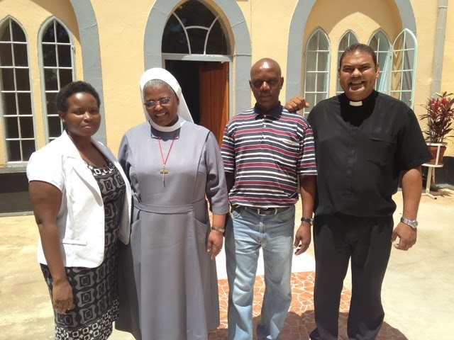 Diocese of Manzini: welcoming the Bishops of the SACBC