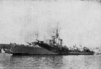 WW2 Battle of Atlantic Polish Destroyer ORP Piorun