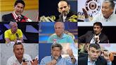 Estos son los 9 candidatos que ya no siguen en carrera La campaña se inició con 19 postulantes al s