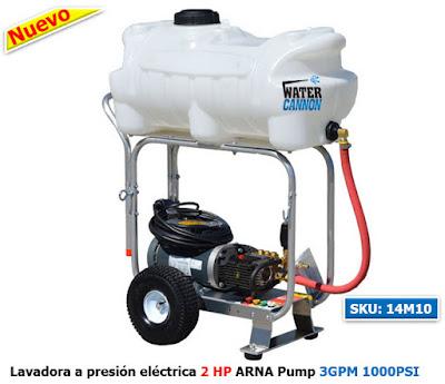 Lavadora a presión electrica