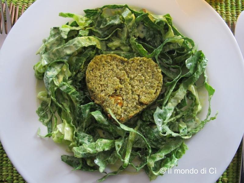 Il mondo di c cuori di ceci e zucchine in insalata for Cucinare a 70 gradi