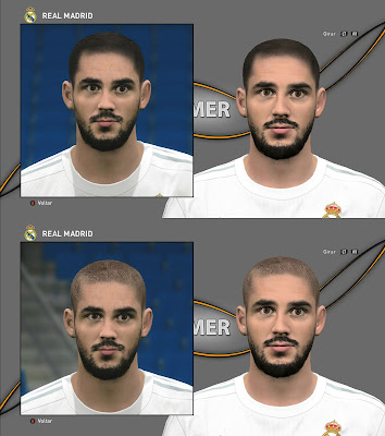 PES 2016 Isco Face by Memer Facemaker