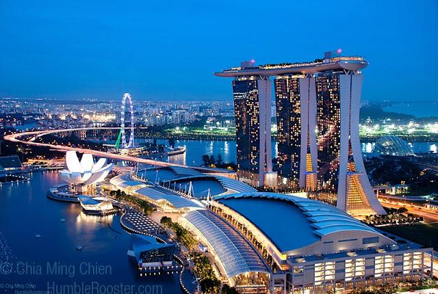 Singapore 5 Star Hotels Marina Bay Sands