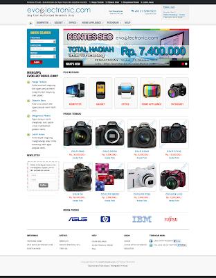 Belanja Barang Elektronik Hanya di Evoelectronik.com