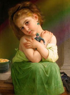 Imágenes de Leprechauns o duendes de Irlanda