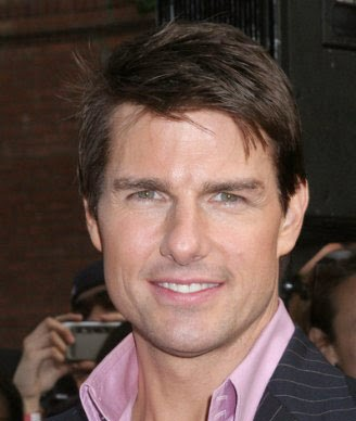 Tom Cruise Male Celebrity Hairstyles