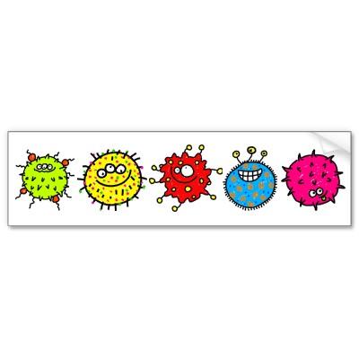 Quantos germes tem a claudia?