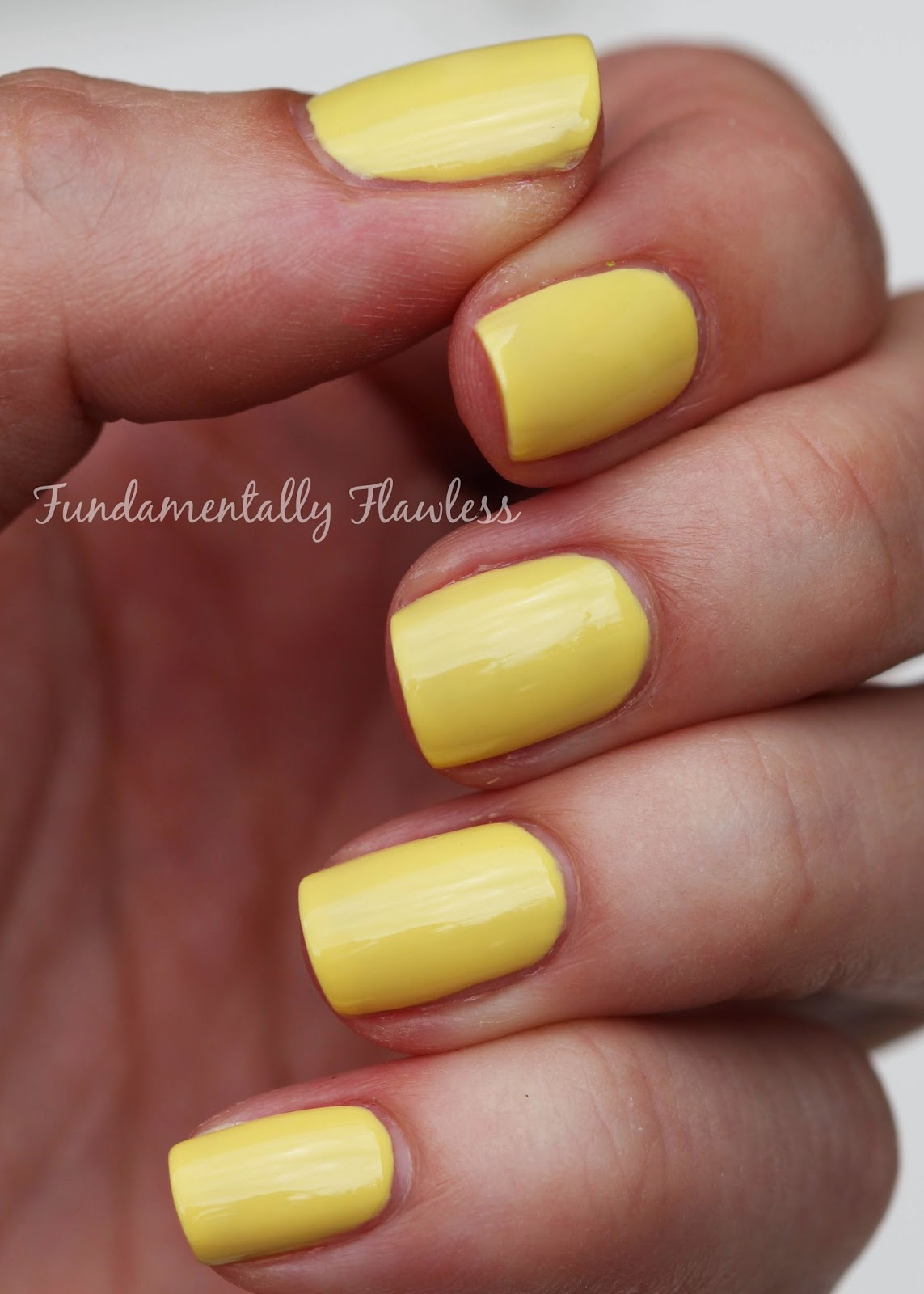 Fundamentally Flawless: No 7 Gel Look Shine Summer Nail Colour ...