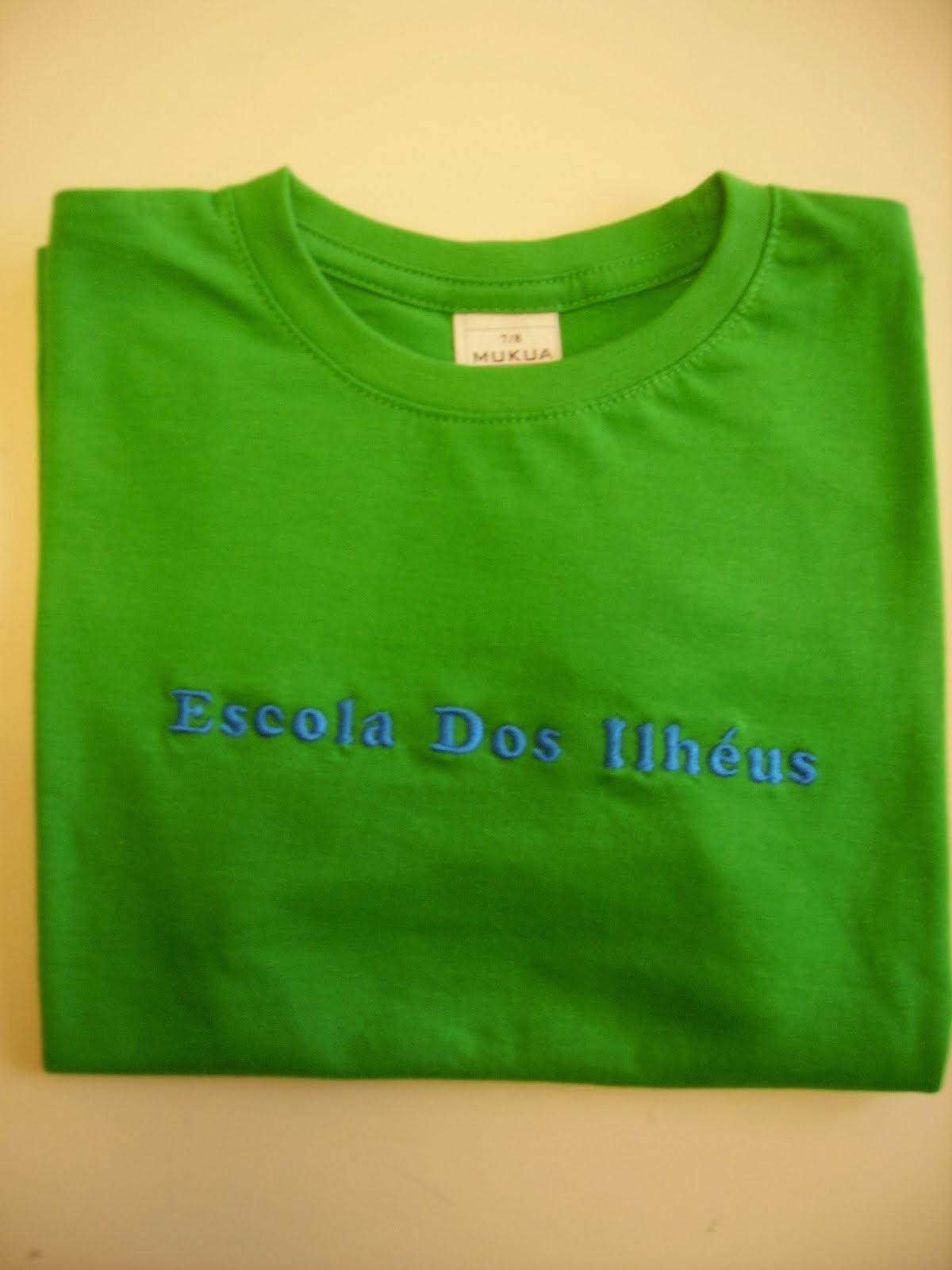 T-shirt da Escola