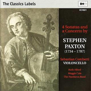 Paxton: 4 Sonatas and a Concerto