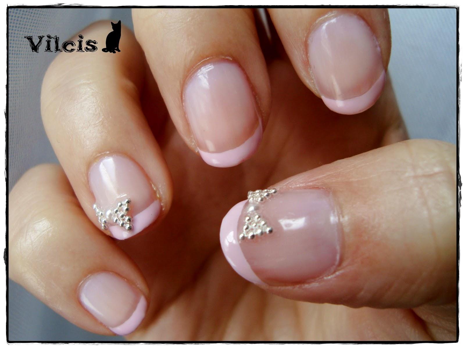 Vilcis nail designs: Desafío 31 días - Día 15 - Uñas diseño delicado