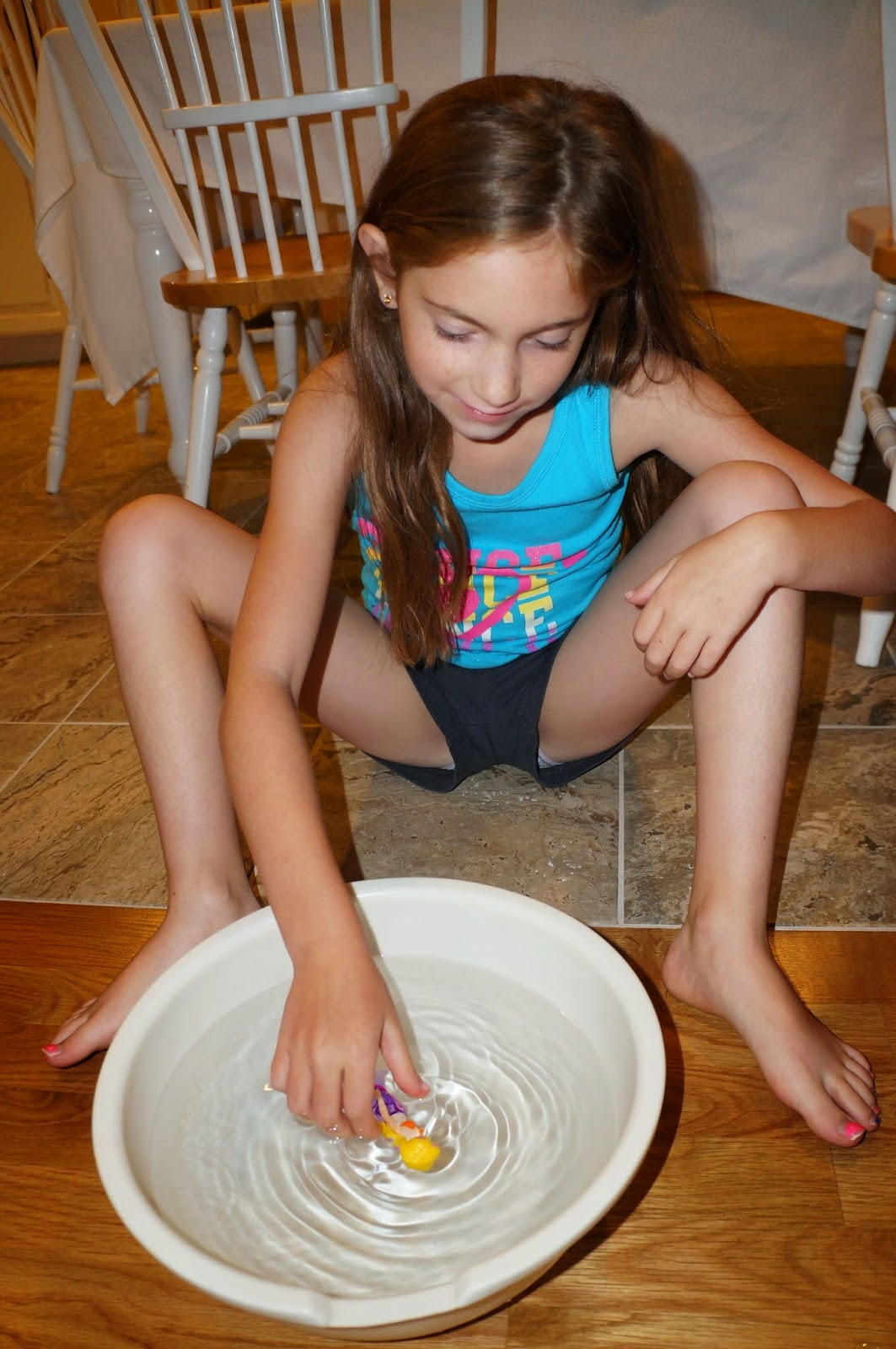 Little mermaid bathroom - Lauren Giggling Away Watching Her Swim She Really Enjoyed Playing