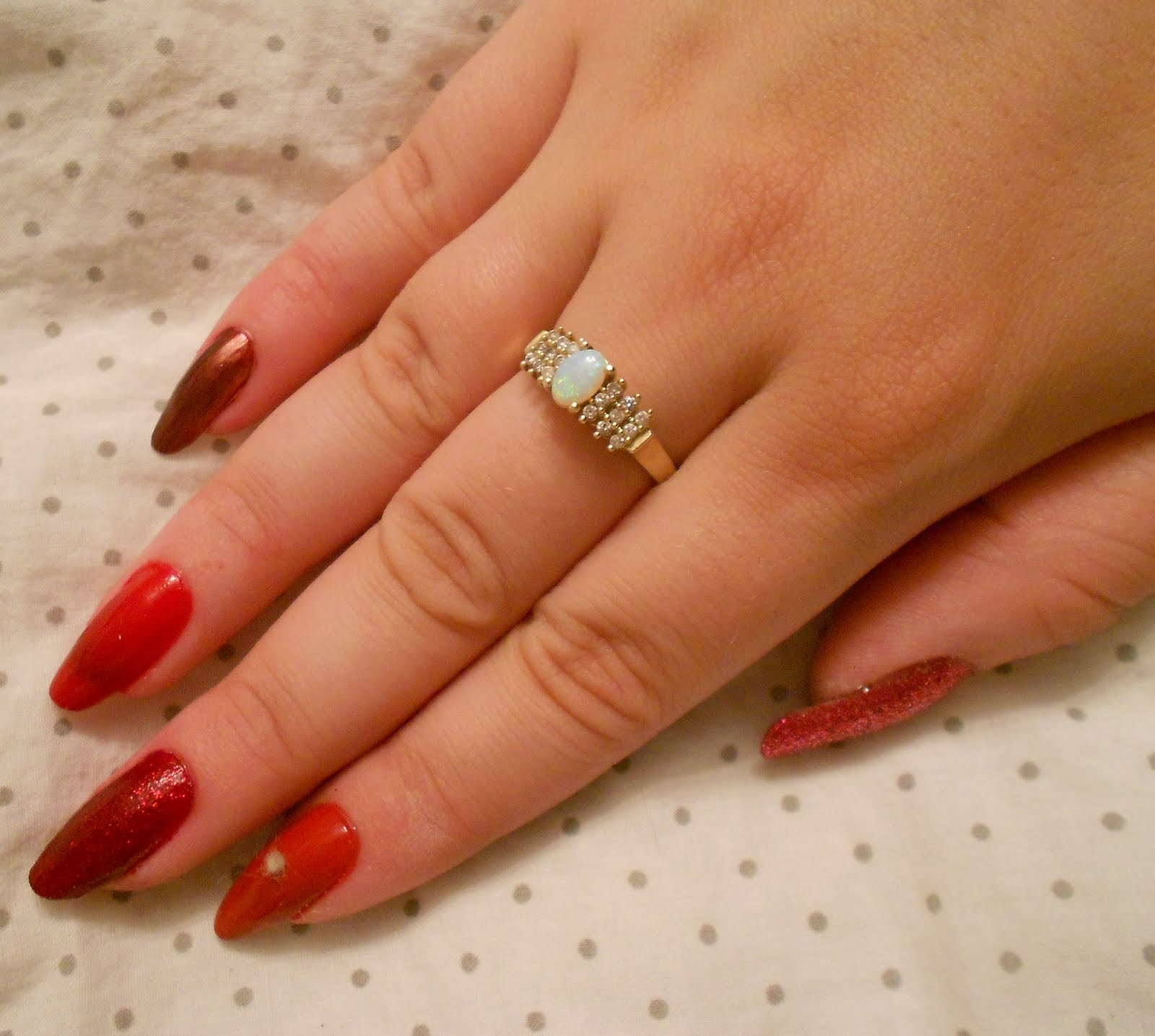 My Top 10 And Top 5 Nail Artists Who: The Nail Artista Extraordinaire: My Top 5 Favorite Red